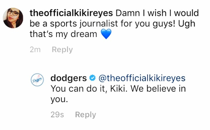 Dodger's Reply